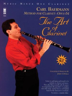 Carl Baermann: Method For Clarinet Op. 64 - The Art Of Clarinet (Book/4 CDs)
