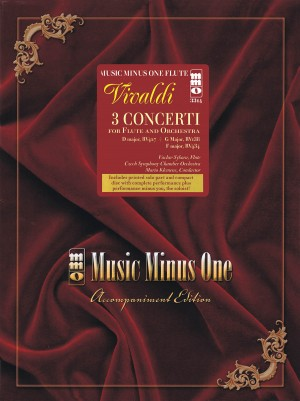 Music Minus One - Antonio Vivaldi: Concerti In D/F/G