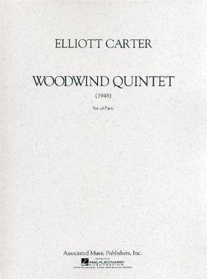 Elliott Carter: Woodwind Quintet (Parts)