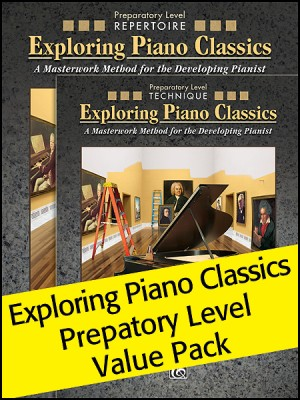 Exploring Piano Classics Preparatory Level Value Pack