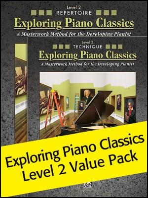 Exploring Piano Classics Level 2 Value Pack