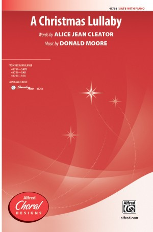 Donald Moore: A Christmas Lullaby SATB