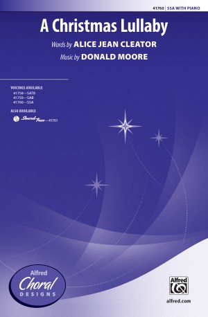Donald Moore: A Christmas Lullaby SSA