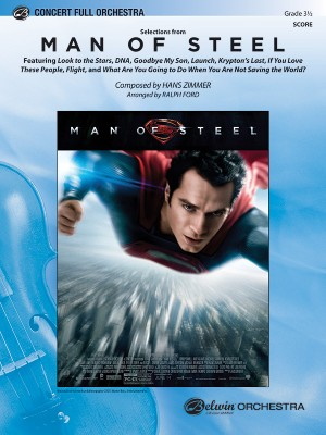 Hans Zimmer/Hanz Zimmer: Man of Steel, Selections from