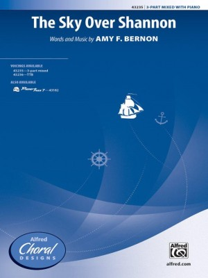 Amy F. Bernon: The Sky Over Shannon 3-Part Mixed