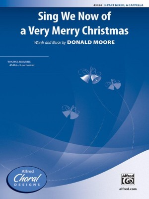 Donald Moore: Sing We Now of a Very Merry Christmas