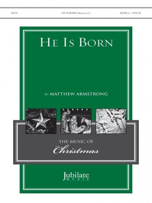 Matthew Armstrong: He Is Born