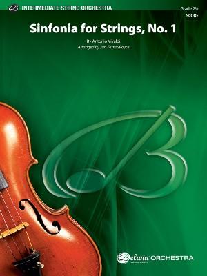 Antonio Vivaldi: Sinfonia for Strings, No. 1