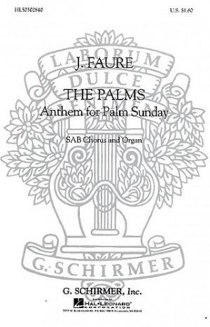 Jean-Baptiste Faure: The Palms (SAB)