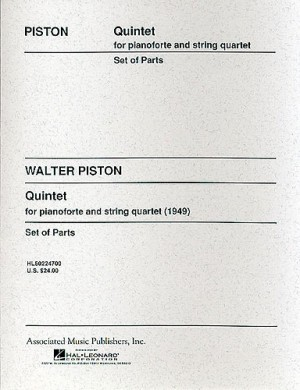 Walter Piston: Piano Quintet