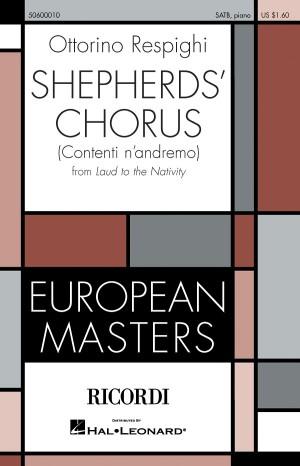 Shepherds? Chorus from Laud to the Nativity