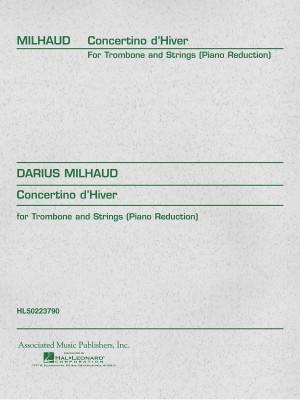 Darius Milhaud: Concertino D'Hiver (Trombone/Piano)