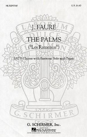 Jean-Baptiste Faure: Les Rameaux - Baritone/SATB