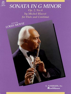 Michel Blavet: Sonata In G Minor For Flute And Continuo Op.2 No.4