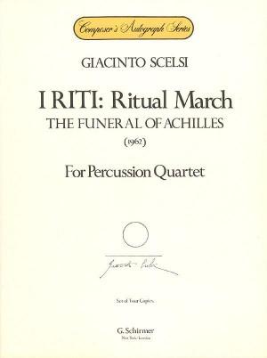 Giacinto Scelsi: I Riti - Ritual March (Percussion Quartet)