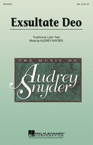 Audrey Snyder: Exsultate Deo