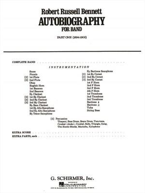 Robert Russell Bennett: Autobiography For Band - Part 1 (1894-1900)