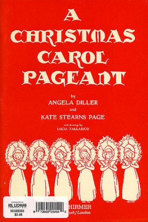 Diller/Stearns Page: A Christmas Carol Pageant