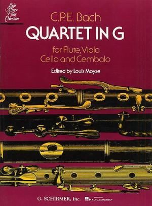 C.P.E. Bach: Quartet In G