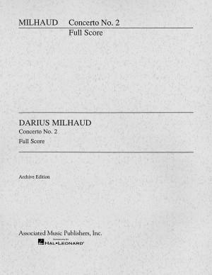 Darius Milhaud: Cello Concerto No.2 (Study Score)