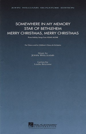John Williams: Three Holiday Songs from Home Alone (2-Part Choir)