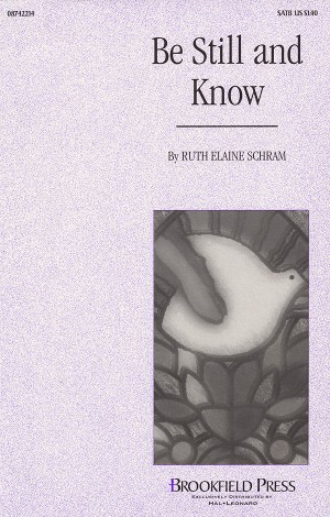 Ruth Elaine Schram: Be Still and Know