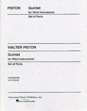 Walter Piston: Quintet For Wind Instruments