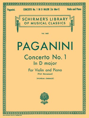 Niccolo Paganini: Violin Concerto No.1 In D First Movement (Violin/Piano)