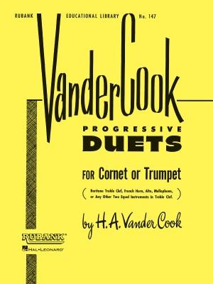 H.A. VanderCook: Vandercook Progressive Duets for Cornet/Trumpet