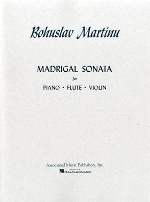 Bohuslav Martinu: Madrigal Sonata (Score/Parts)