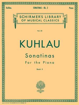 Friedrich Kuhlau: Sonatinas Book Two