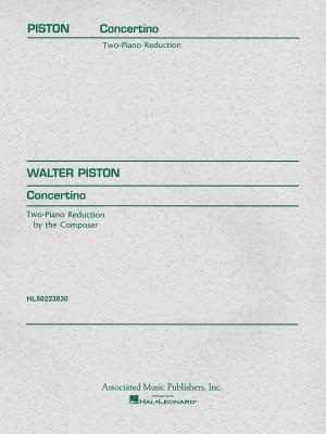 Walter Piston: Concertino (1937)