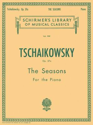 P.I. Tchaikovsky: The Seasons Op.37a - Piano