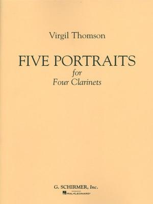 Virgil Thomson: 5 Portraits For 4 Clarinets