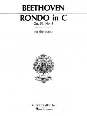 Ludwig van Beethoven: Rondo In C Major Op. 51 No. 1