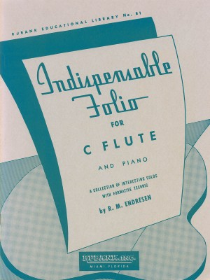 R.M. Endresen: Indispensable Folio - Flute and Piano