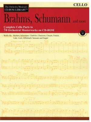 Johannes Brahms: Brahms, Schumann & More - Volume 3
