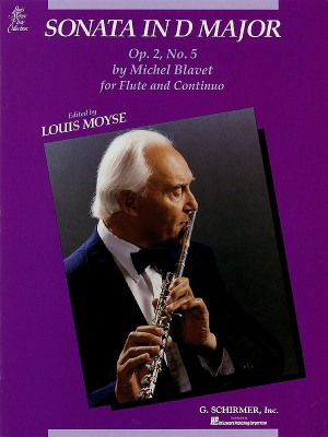 Michel Blavet: Sonata In D Major For Flute And Piano Op. 2 No. 5