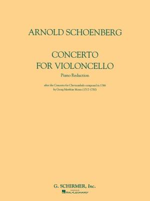 Arnold Schoenberg: Concerto For Violoncello