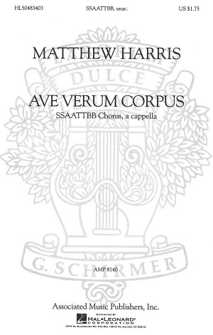 Matthew Harris: Ave Verum Corpus