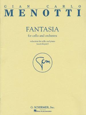 Menotti: Fantasia For Cello And Orchestra