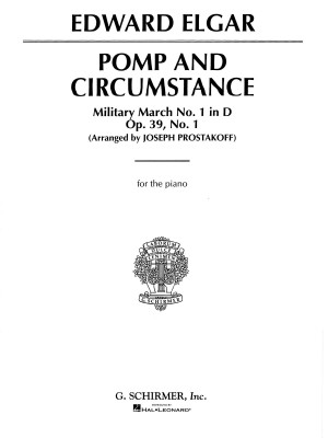 Edward Elgar: Pomp And Circumstance Military March No.1 (Piano)