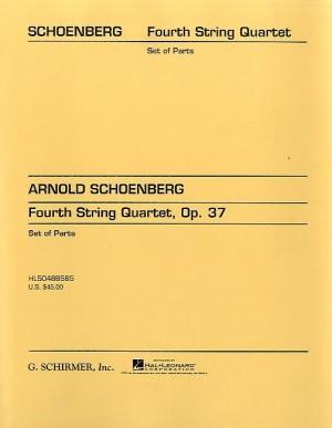 Arnold Schoenberg: String Quartet No. 4 Op. 37 (Parts)