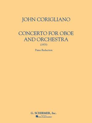 John Corigliano: Oboe Concerto (Oboe/Piano)