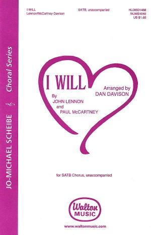John Lennon_Paul McCartney: I Will Product Image