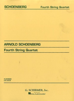 Arnold Schoenberg: String Quartet No. 4 (Score)