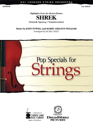 Harry Gregson-Williams/John Powell: Music from Shrek