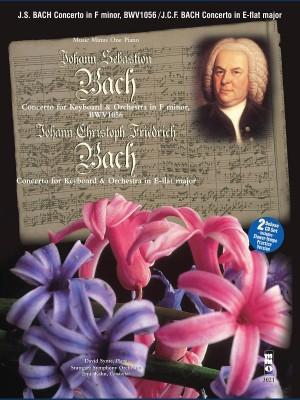 Music Minus One - J.S. Bach: Concerto In F Minor BWV1056&#x3B; J.C.F.Bach: Concerto In E-Flat
