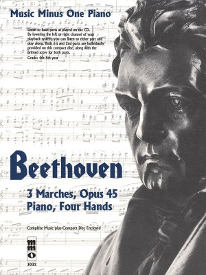 Music Minus One - Ludwig Van Beethoven: Three Marches