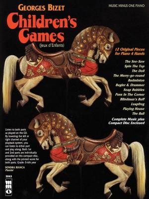 Music Minus One - Georges Bizet: Jeux D'Enfants (Twelve Children's Games) Op.22